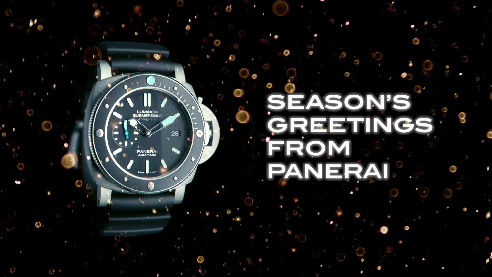 Season's greetings from Panerai