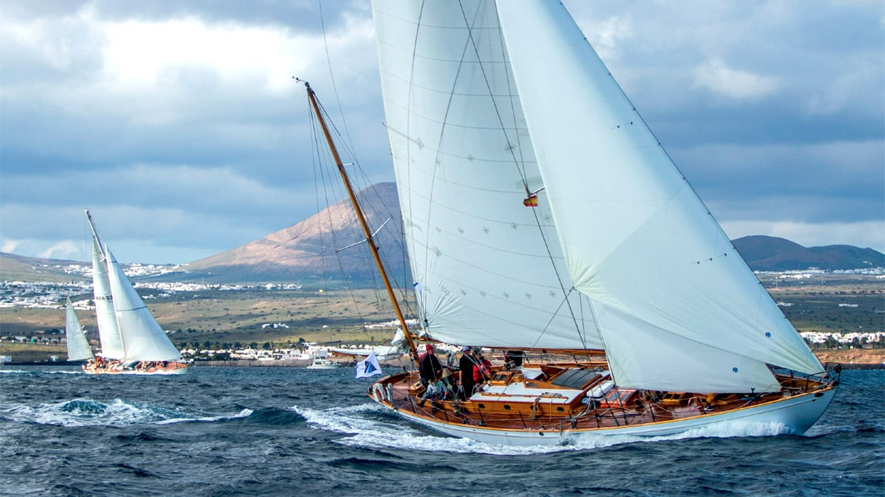 Panerai Transat Classique 2019 an exhilarating dash across the Atlantic for the vintage fleet.