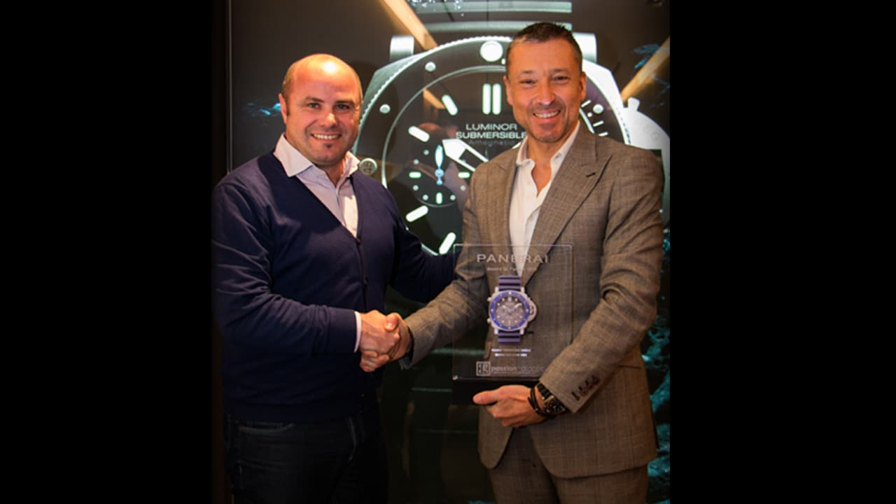 Panerai Submersible Chrono edition Guillaume Nery, Watch of the Year for Passion Horlogère