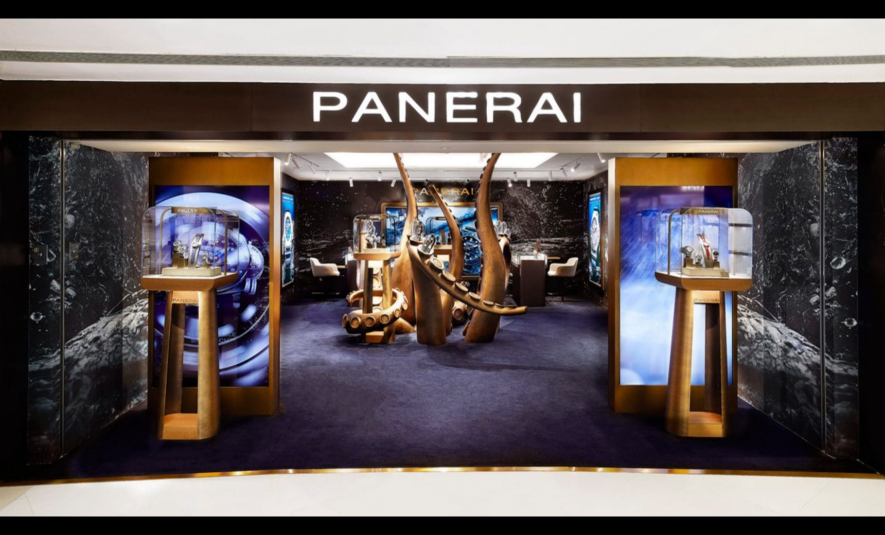 Panerai opens its first Pop Up Store in Greater China