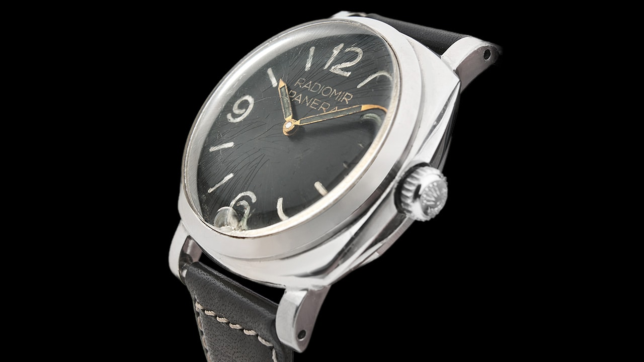 BREAKING NEWS ! Two extremely rare Panerai watches have been sold at the Artcurial auction in Monaco.
