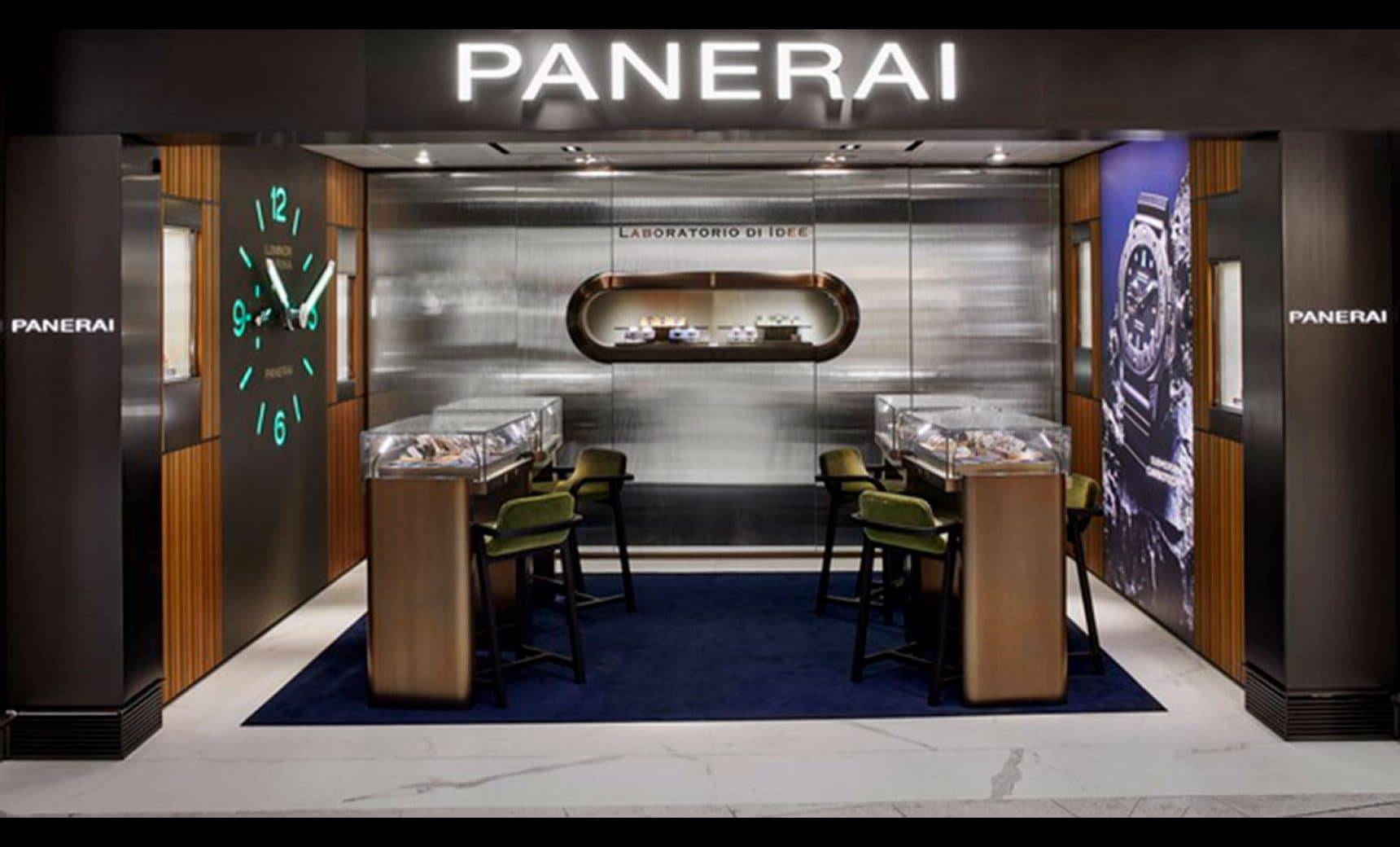 PANERAI OPENS ITS FIRST BOUTIQUE AT THE AIRPORT  IN HONG KONG AMONG THE WORLD