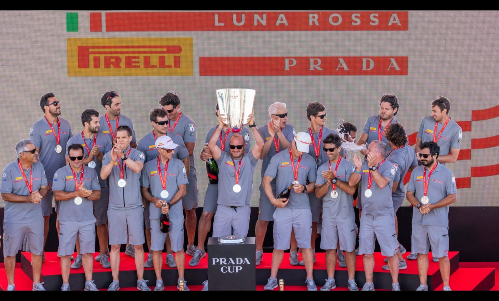 LUNA ROSSA PRADA PIRELLI CONQUERS THE PRADA CUP AND HEADS FOR THE AMERICA'S CUP