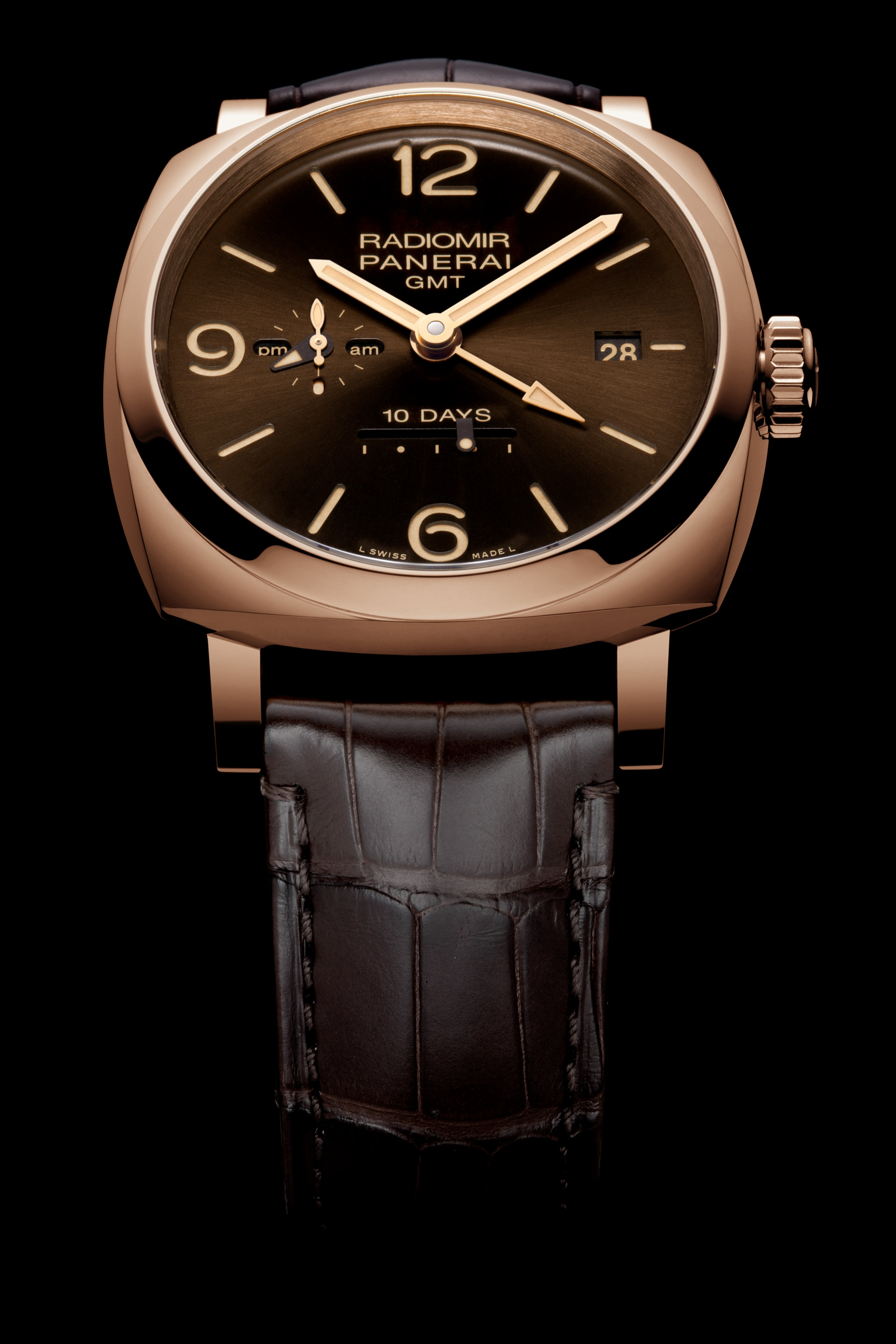 PNPAM00624 - Radiomir 1940 10 Days GMT Automatic Oro Rosso - 45 mm