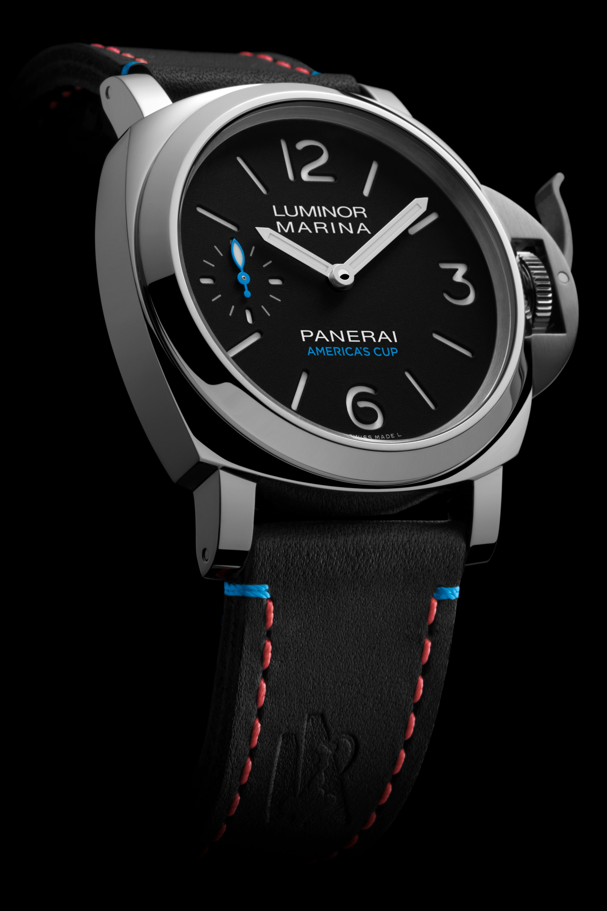 PNPAM00724 - Luminor Marina ORACLE TEAM USA 8 Days Acciaio - 44mm