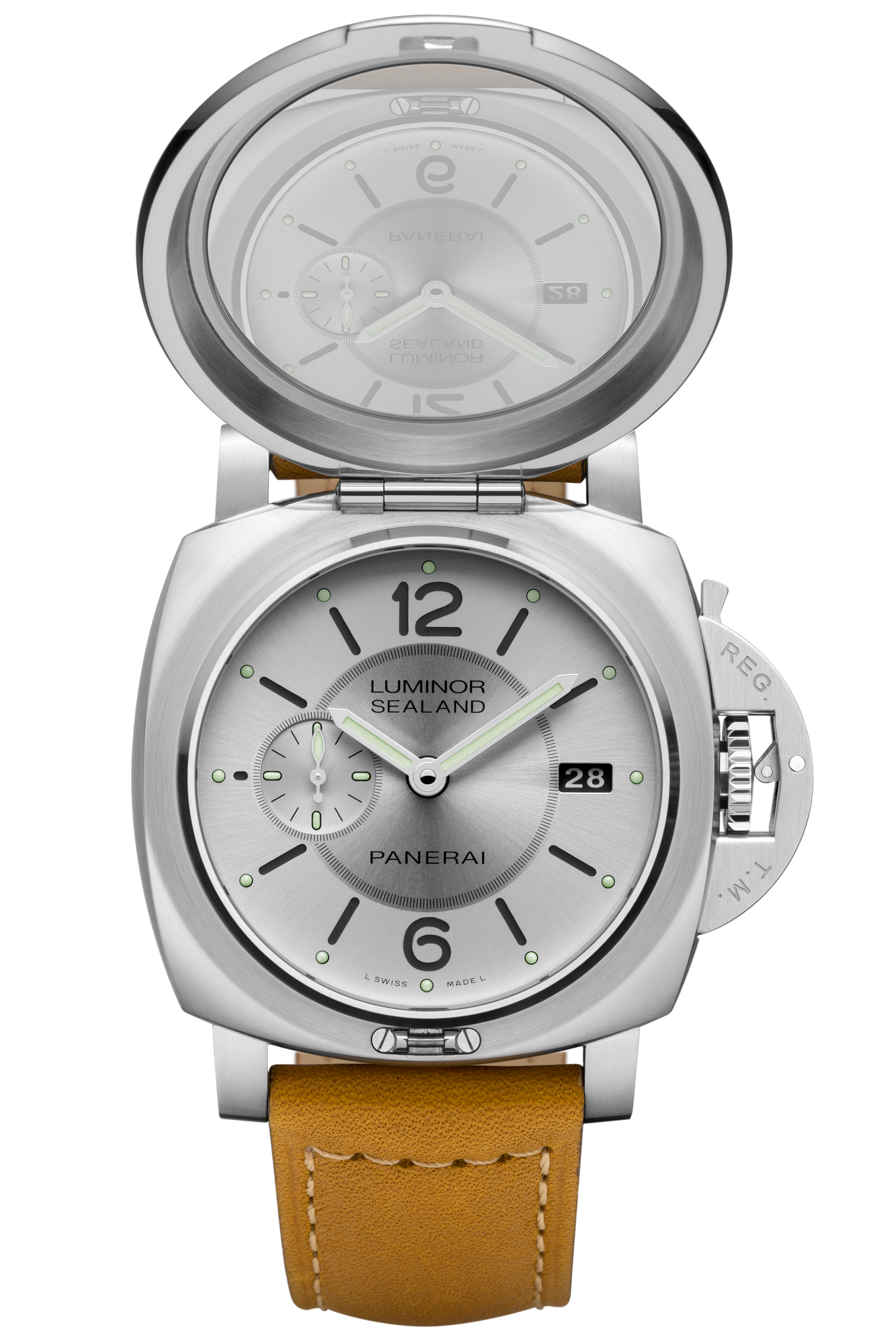 PNPAM00852 - Luminor 1950 Sealand 3 Days Automatic Acciaio - 44mm腕錶