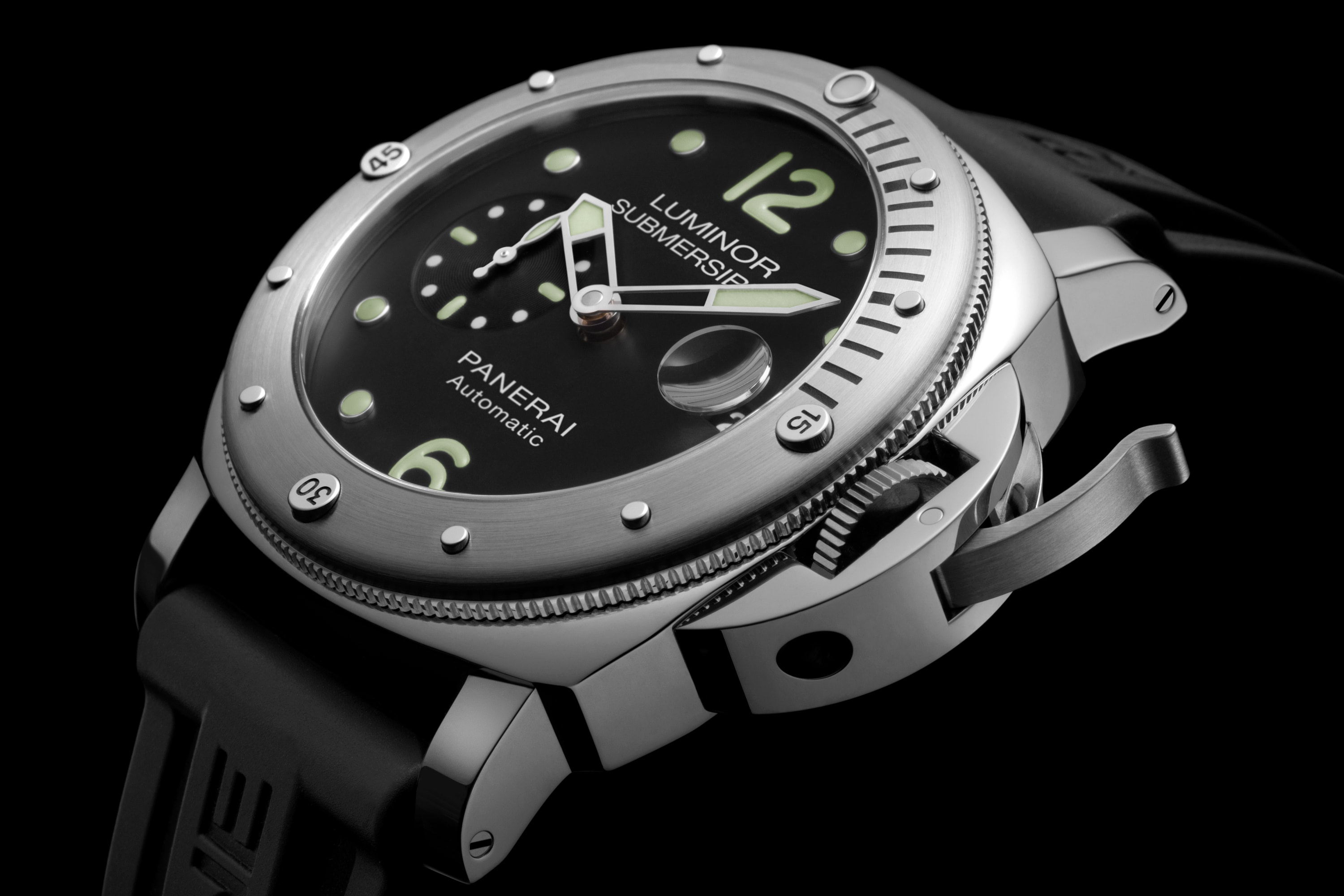 PNPAM01024 - Luminor Submersible Automatic Acciaio - 44mm