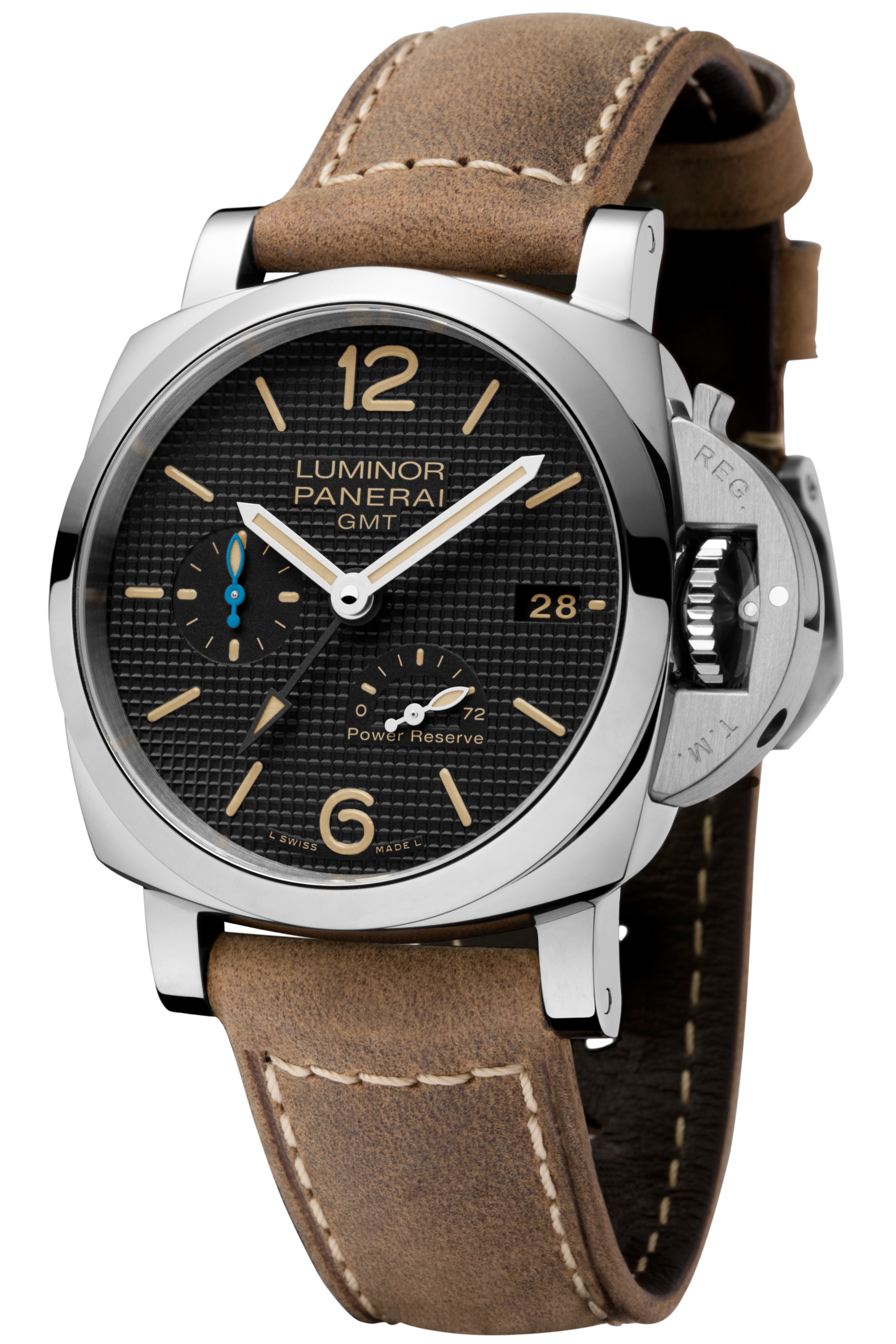 PNPAM01537 - Luminor GMT Power Reserve - 42mm