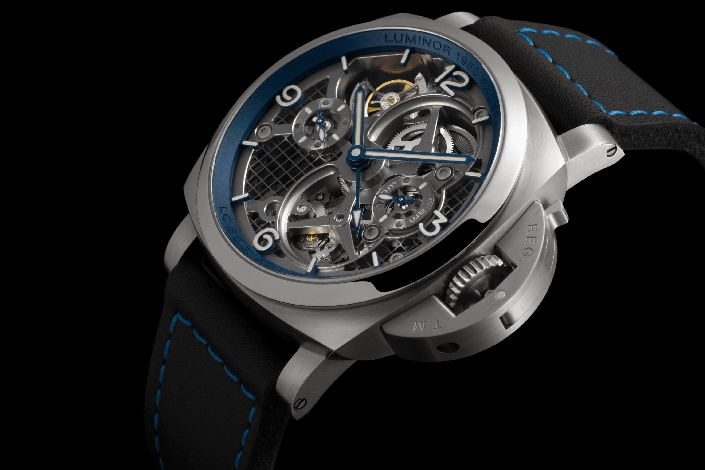 PNPAM00767 - Luminor Tourbillon GMT - 47mm腕錶