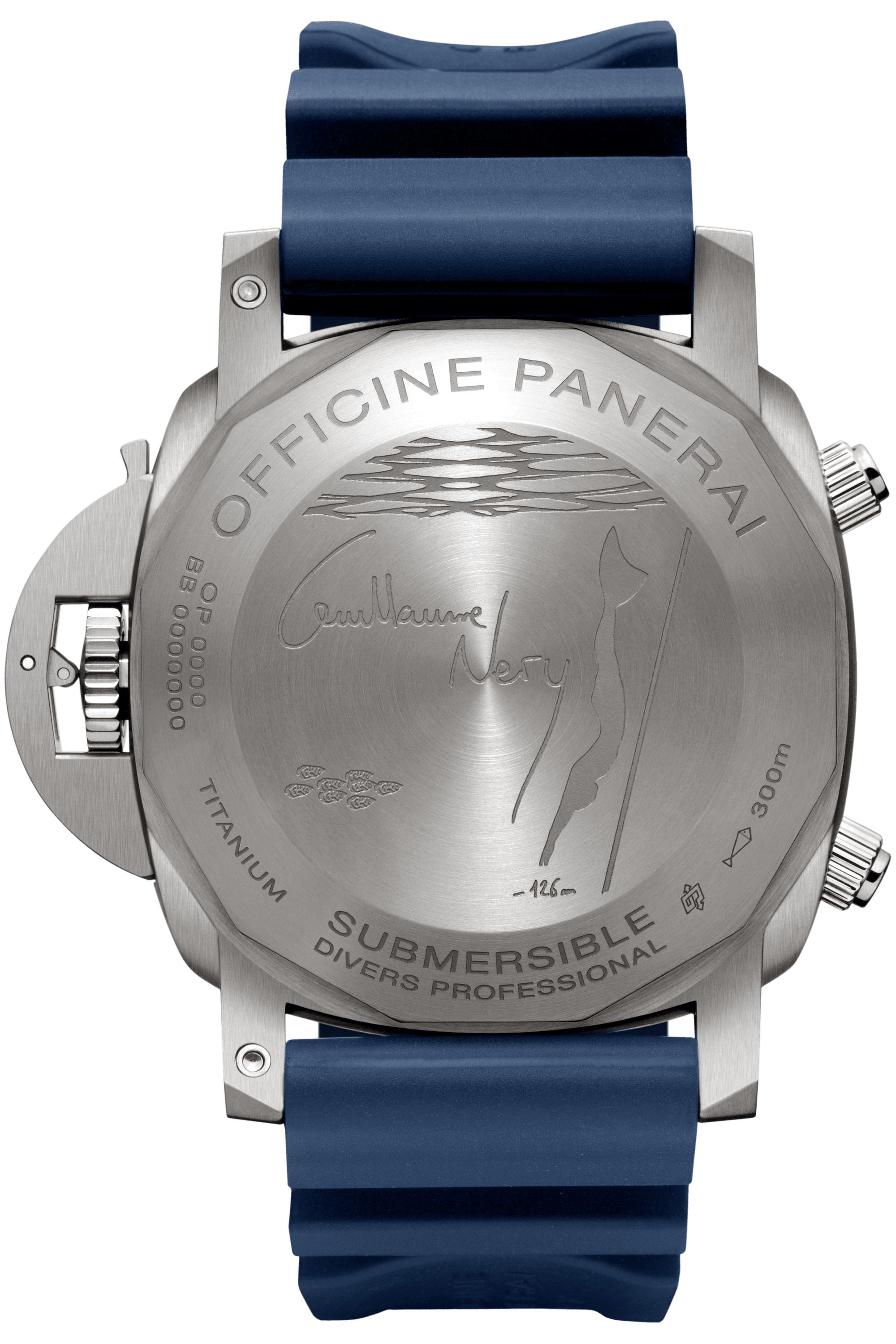 PNPAM00982 - Submersible Chrono Guillaume Nery Edition -  47 мм