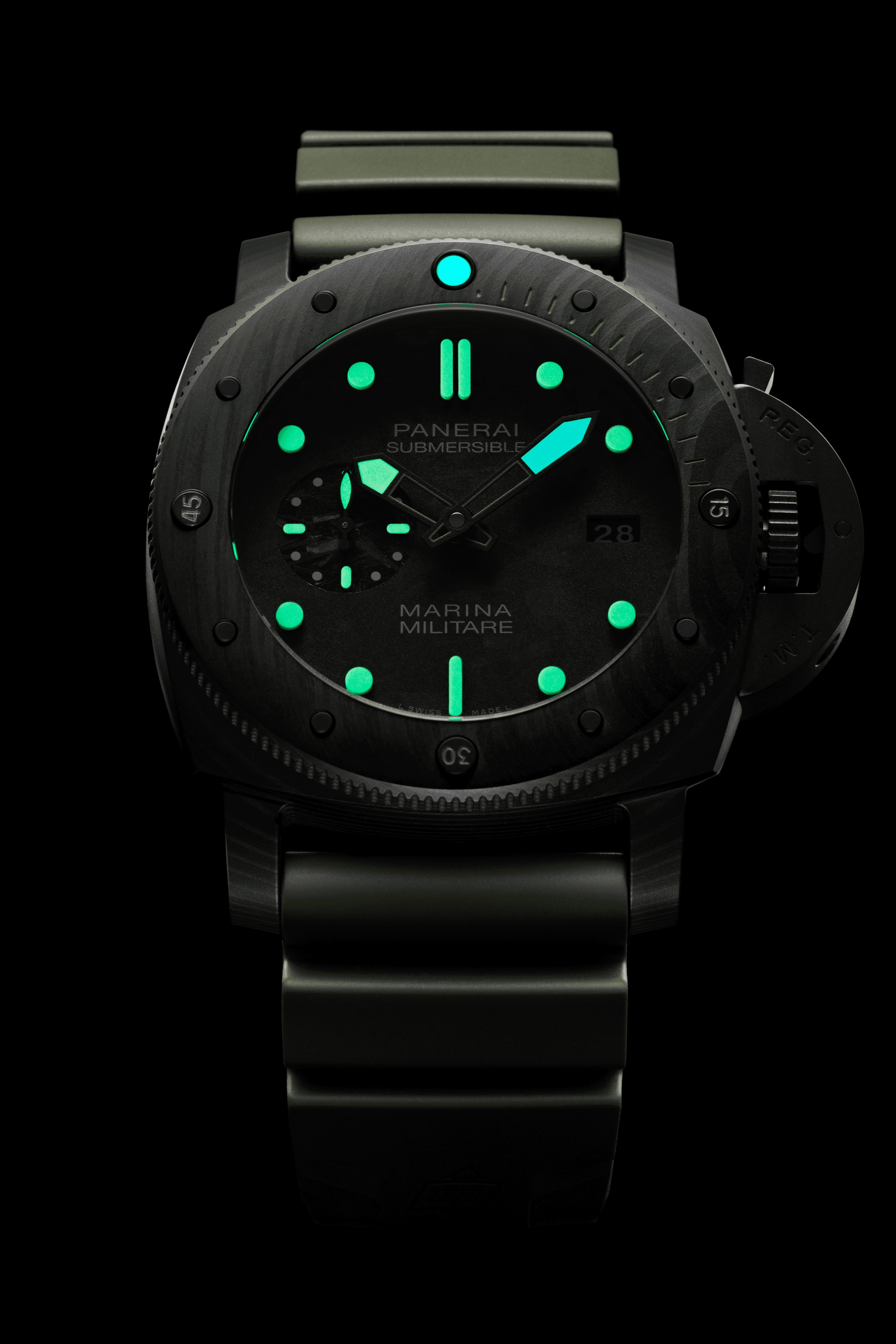 PNPAM00961 - Submersible Marina Militare Carbotech™ - 47mm