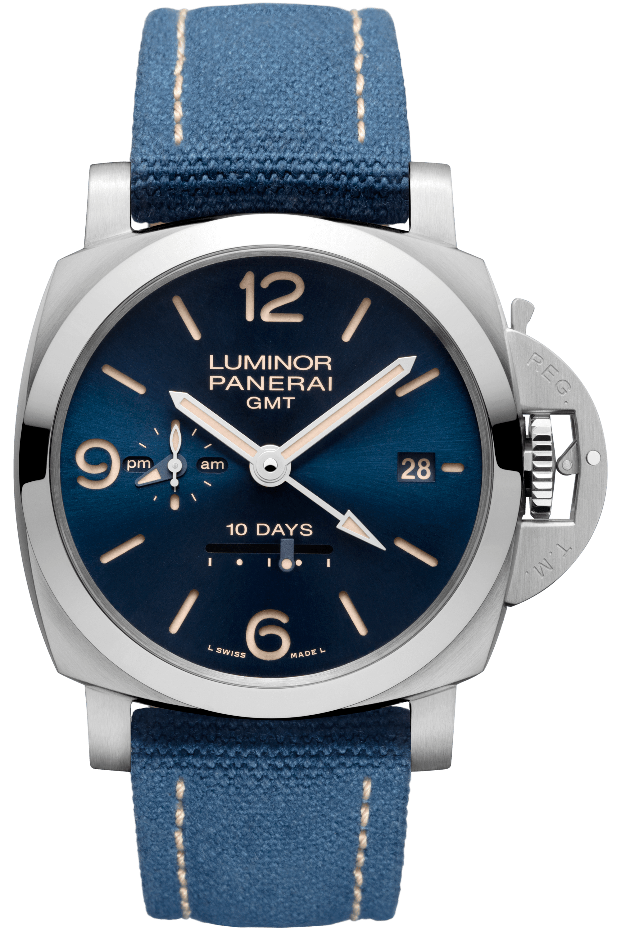 PNPAM00986 - Luminor GMT 10 Days - 44mm
