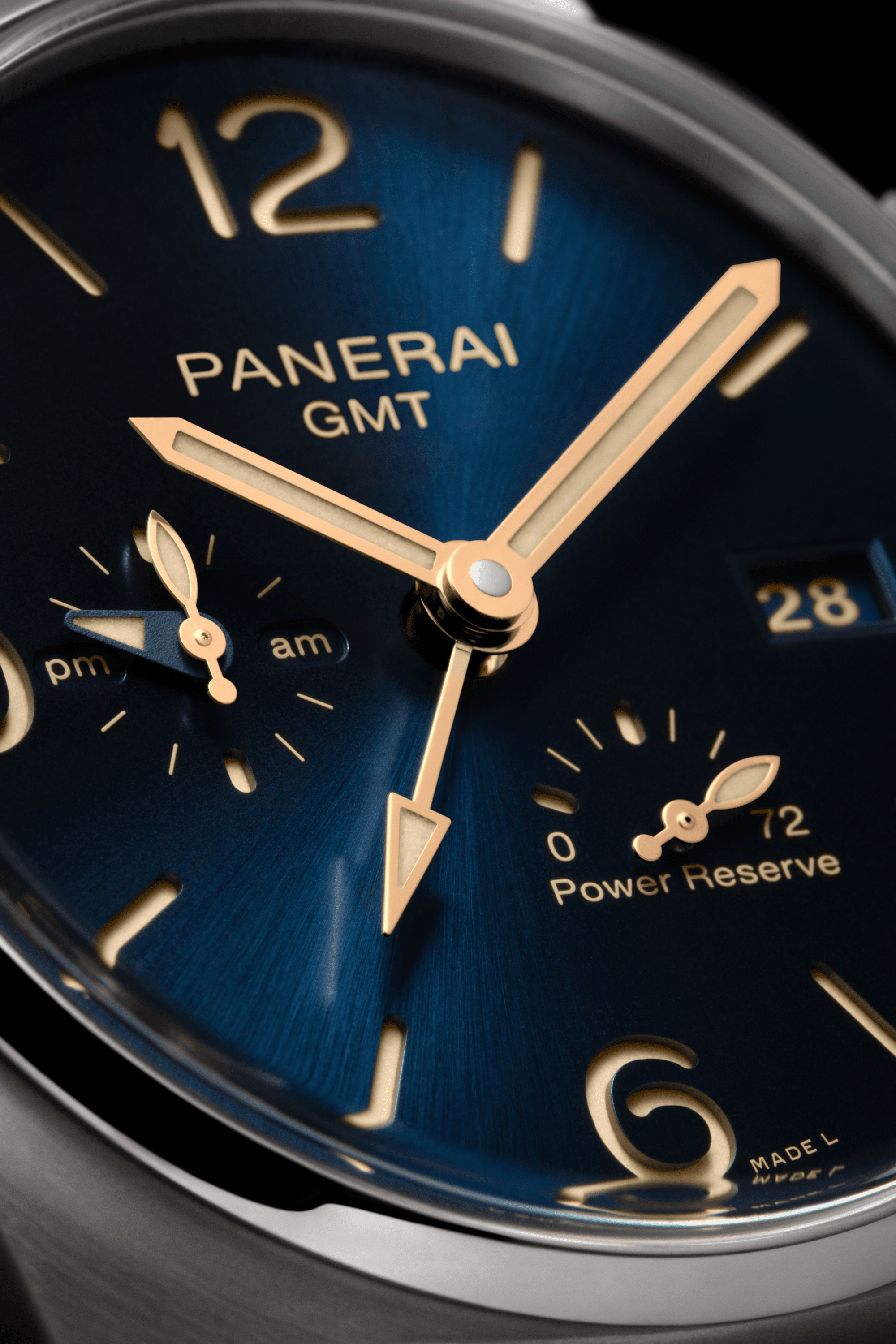 PNPAM00964 - Luminor Due GMT Power Reserve - 45mm