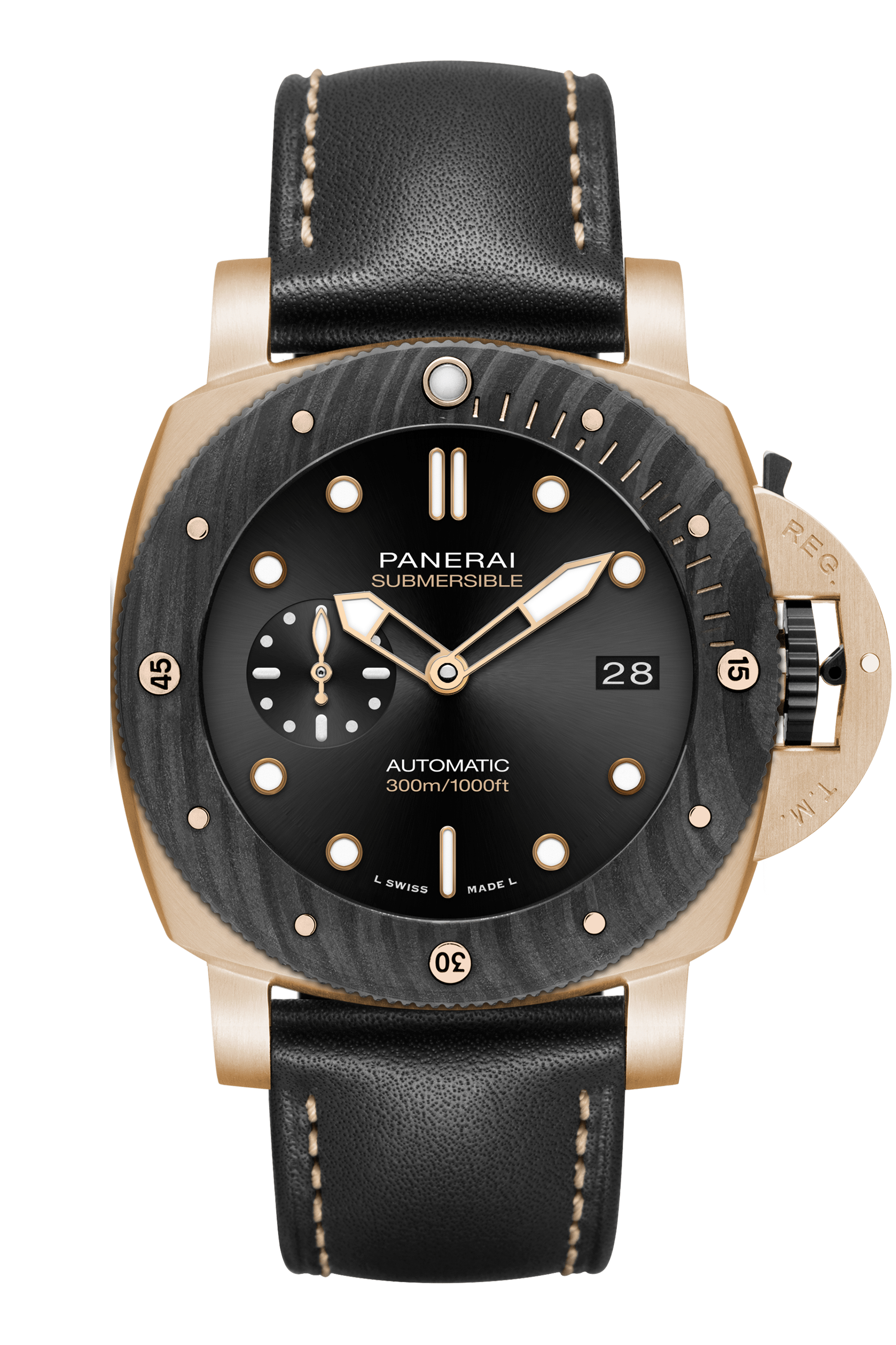 PNPAM01070 - Submersible Goldtech™ OroCarbo - 44mm