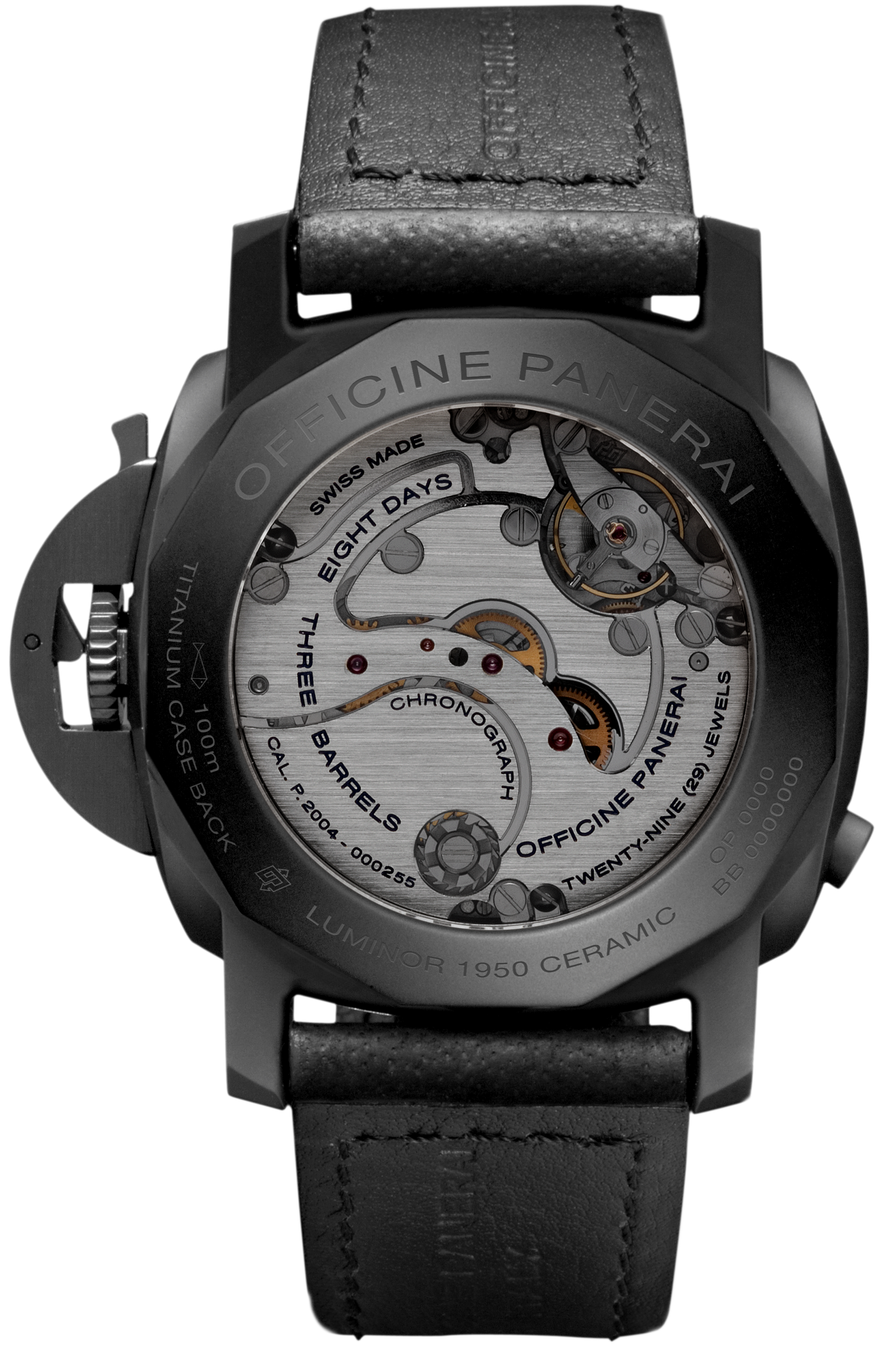 PNPAM00317 - Luminor Chrono Monopulsante 8 Days GMT - 44mm