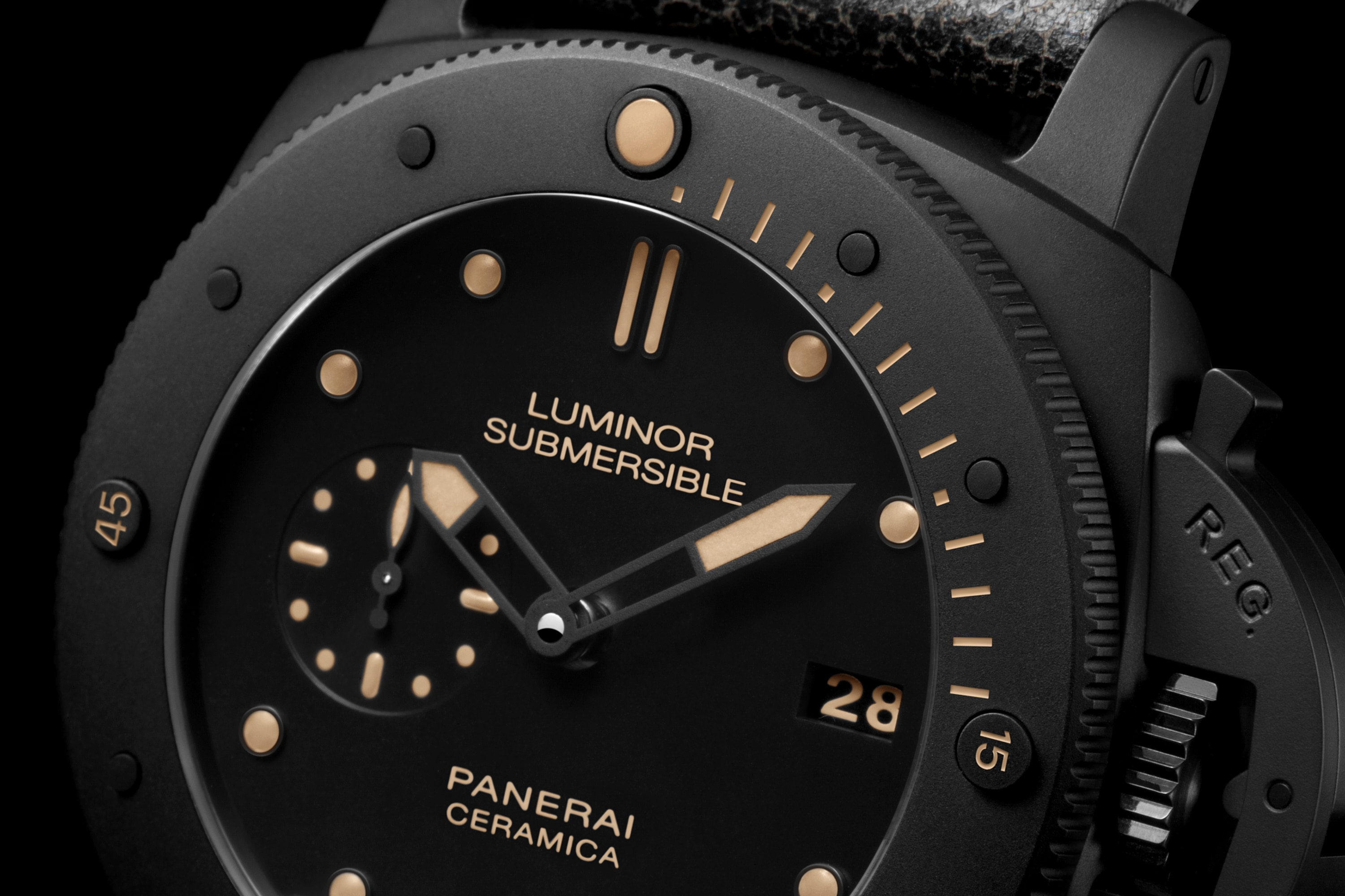 PNPAM00508 - Luminor Submersible 1950 3 Days Automatic Ceramica - 47mm