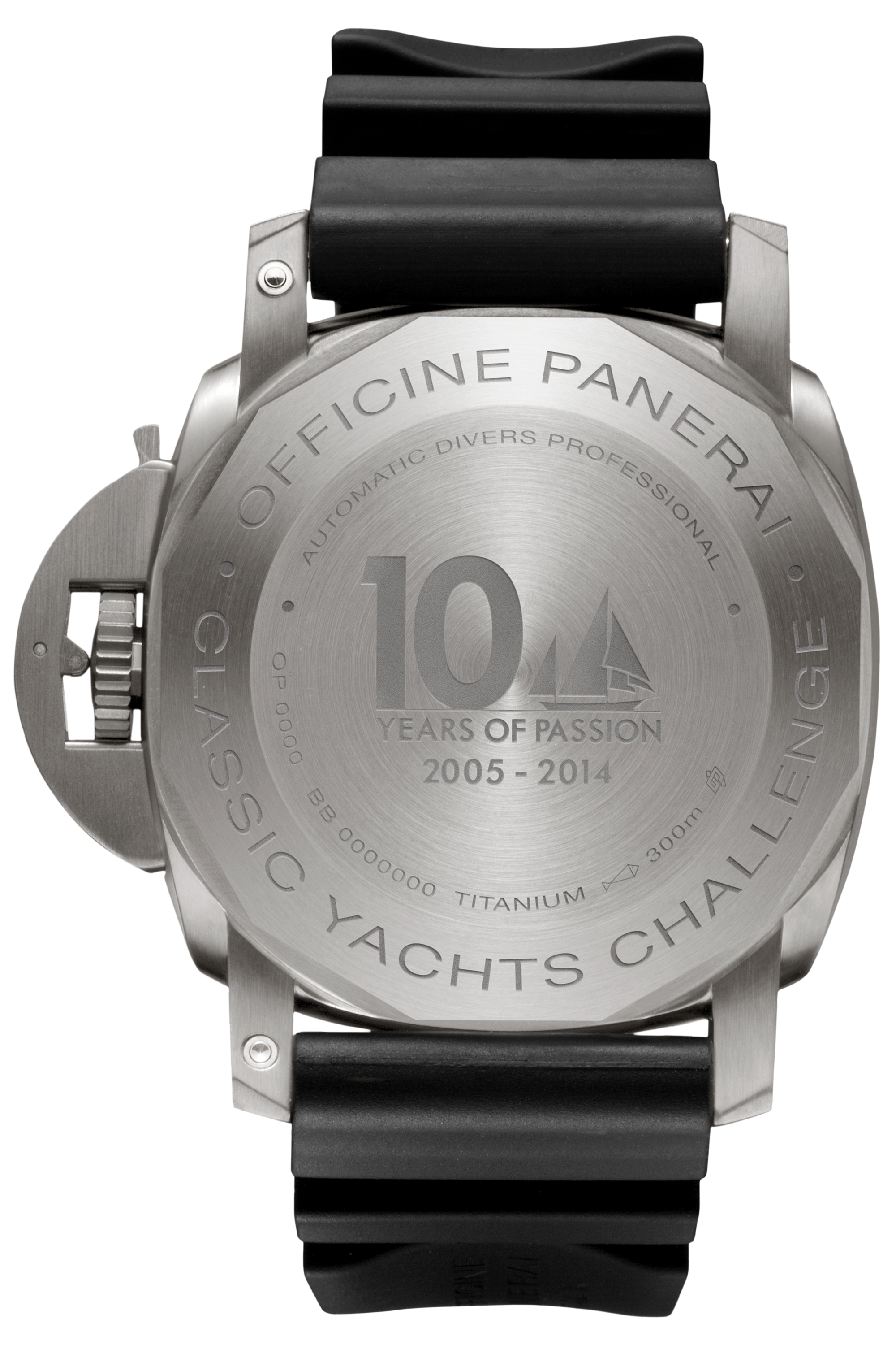 PNPAM00571 - Luminor Submersible 1950 3 Days Automatic Titanio - 47mm - PCYC 10 Years of Passion