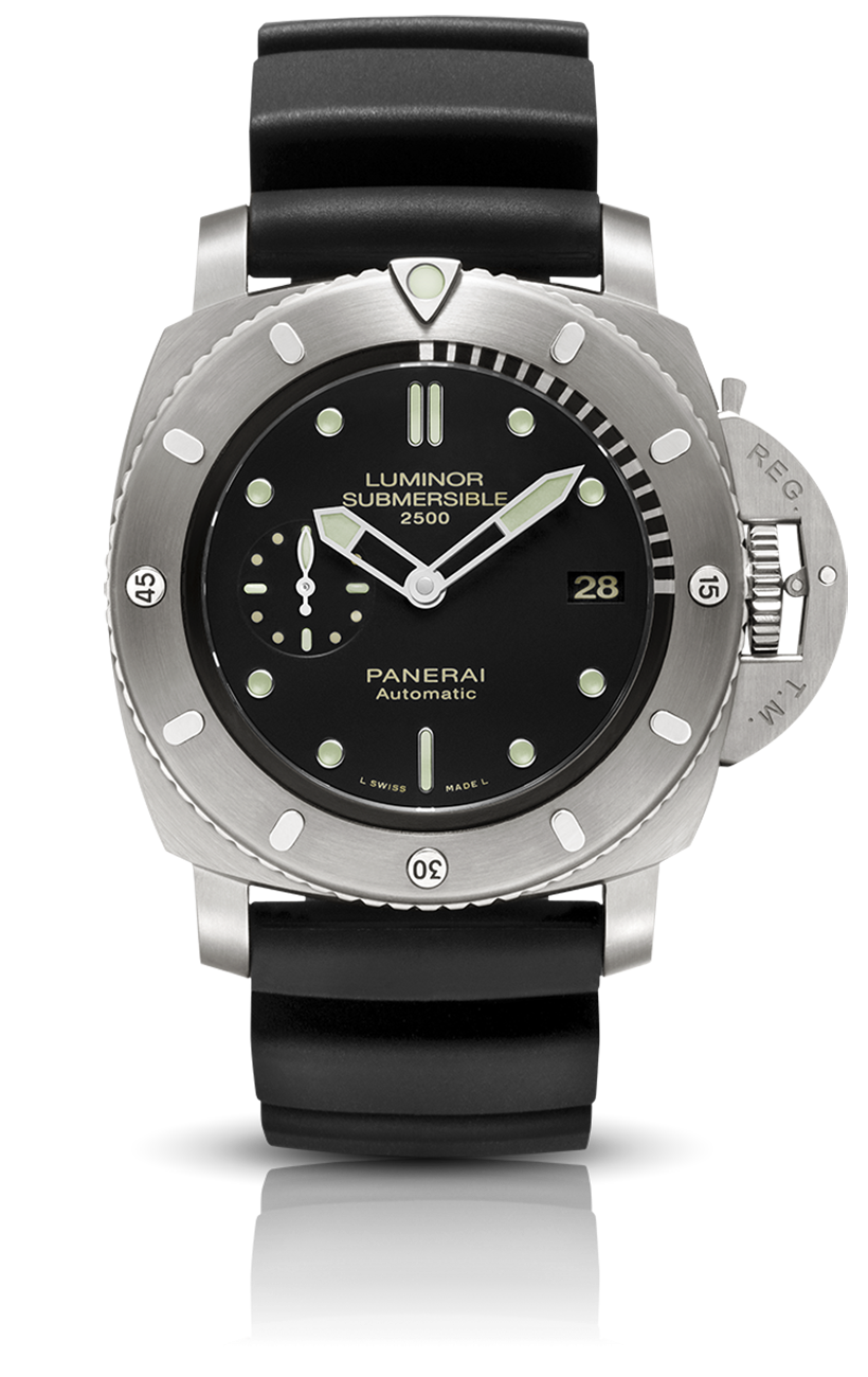 PNPAM00364 - Luminor Submersible 1950 2500m 3 Days Automatic Titanio - 47mm