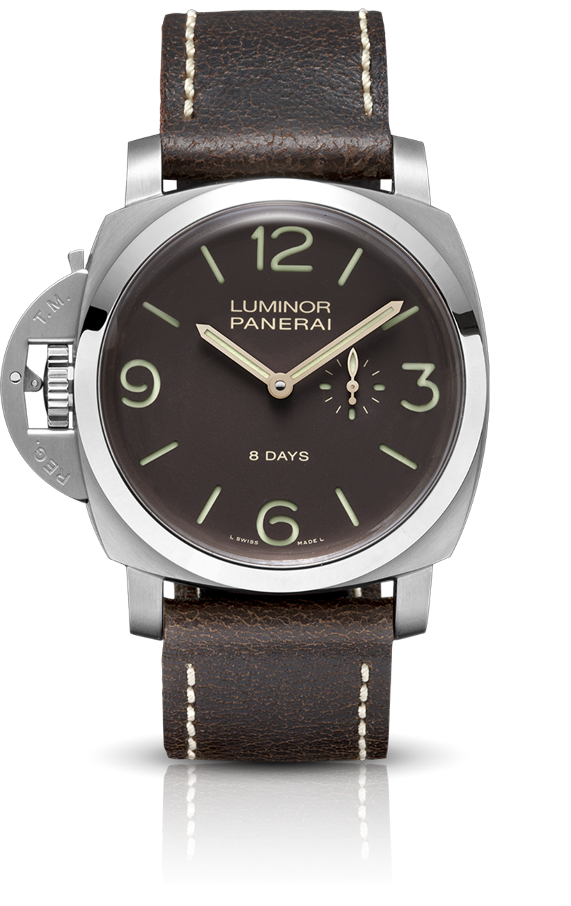 PNPAM00368 - Luminor 1950 Left-Handed 8 Days Titanio - 47mm