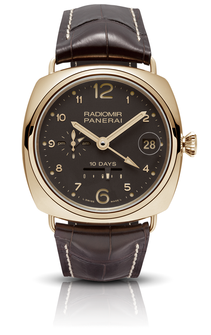 PNPAM00497 - Radiomir 10 Days GMT Automatic Oro Rosso - 45mm