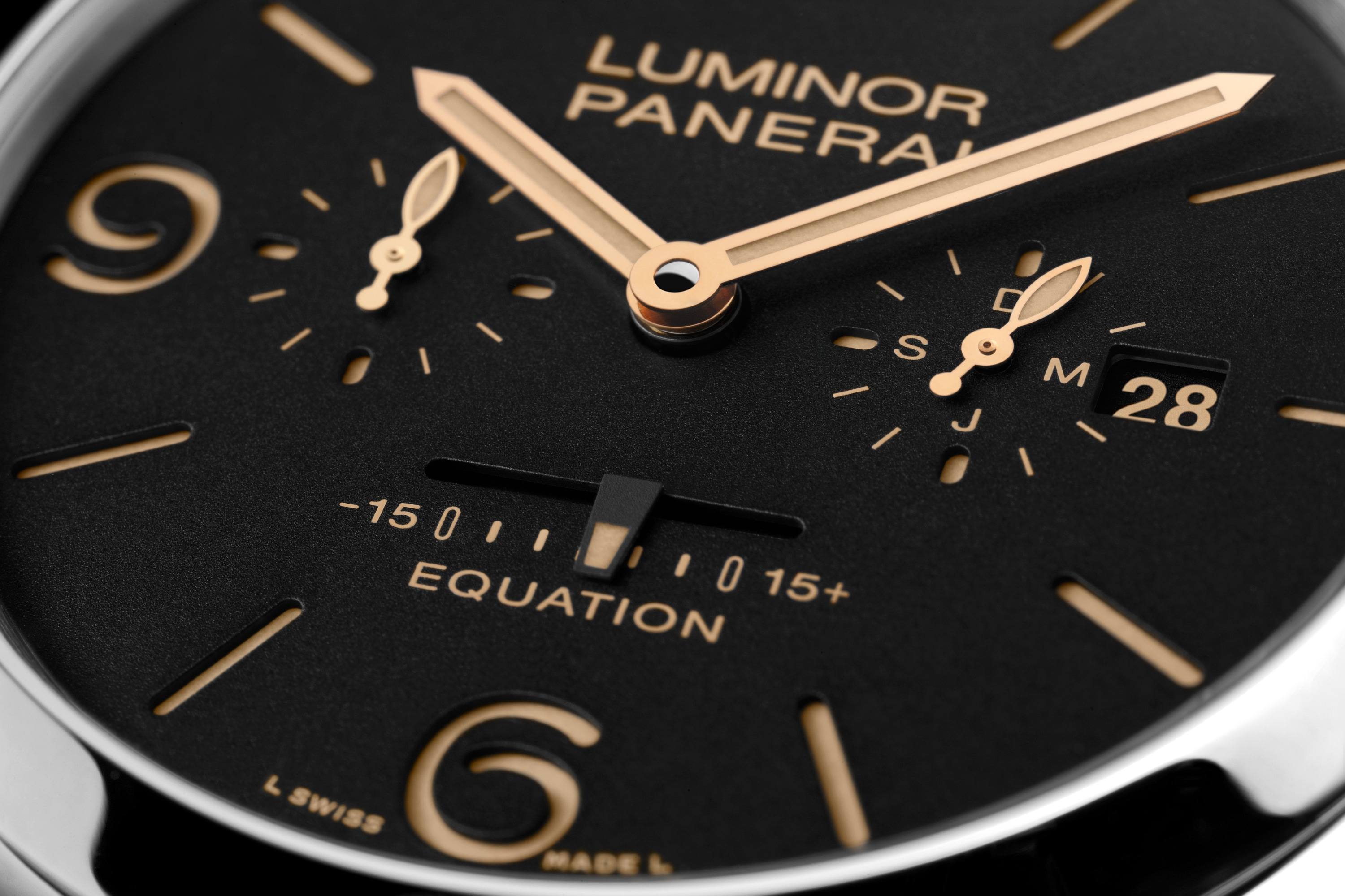 PNPAM00601 - Luminor 1950 Equation of Time 8 Days Acciaio - 47mm